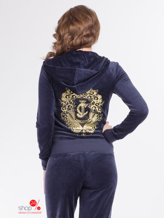Толстовка Juicy Couture, цвет синий