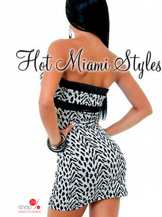 Платье Hot Miami Styles, цвет серый