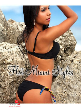 Купальник Hot Miami Styles, цвет черный