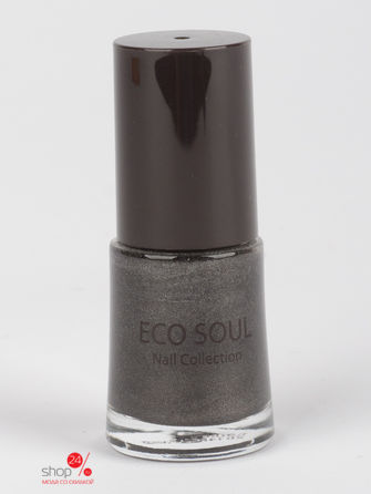 Лак для ногтей Eco Soul Nail Collection Prism 05 Prism Black, 10 мл Saem