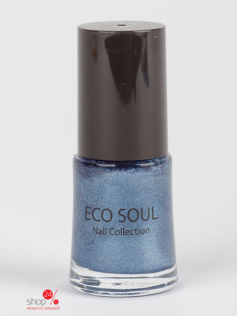 Лак для ногтей Eco Soul Nail Collection Prism Saem, цвет синий