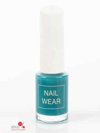 Лак для ногтей Nail Wear 90.Cool green Saem