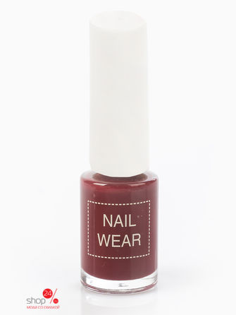 Лак для ногтей The Saem Nail Wear 80. Rose burgundy Saem