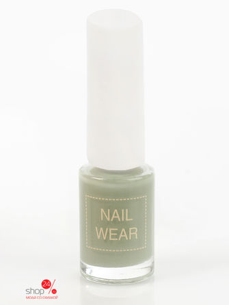 Лак для ногтей The Saem Nail Wear Jungle mint Saem