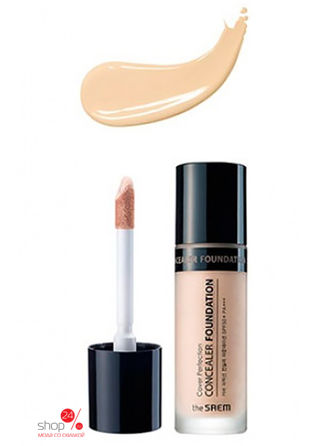 Консилер жидкий The Saem, цвет Clear Beige консилер cover perfection concealer foundation 02 38 мл the saem цвет rich beige
