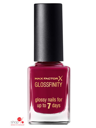 Лак для ногтей Glossfinity, 155 тон burgundy crush Max Factor