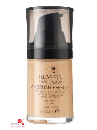 Тональный крем Photoready Airbrush Effect Makeup REVLON, цвет ivory 001