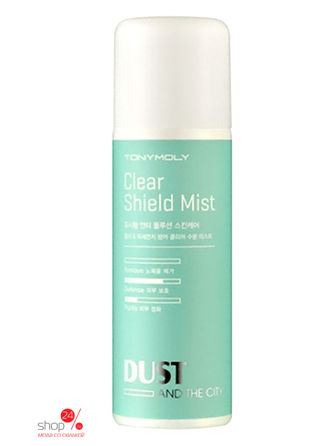 Мист для лица DUST AND THE CITY CLEAR SHIELD MIST TONY MOLY