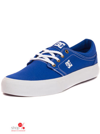 Кеды DC Shoes, цвет синий