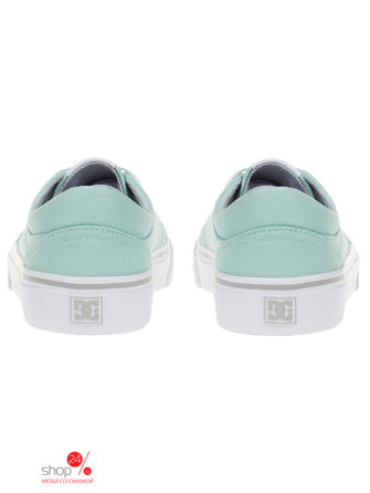Кеды DC Shoes, цвет мятный