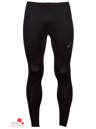 Тайтсы ASICS, цвет черный тайтсы asics тайтсы base tight gpx