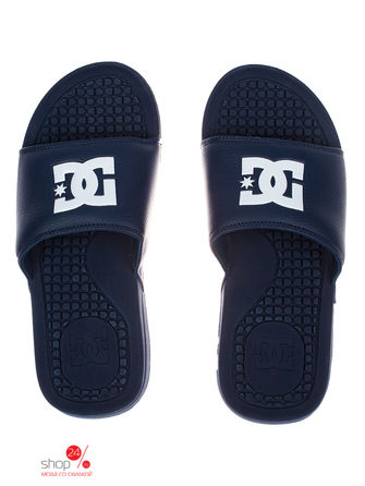 Шлепанцы DC Shoes, цвет синий