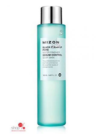 Тоник очищающий MIZON BLACK CLEAN UP PORE WATER FINISHER, 150 мл MIZON