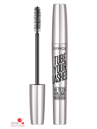 Тушь для ресниц Tube Your Lashes - тон № 04 Divage, цвет синий