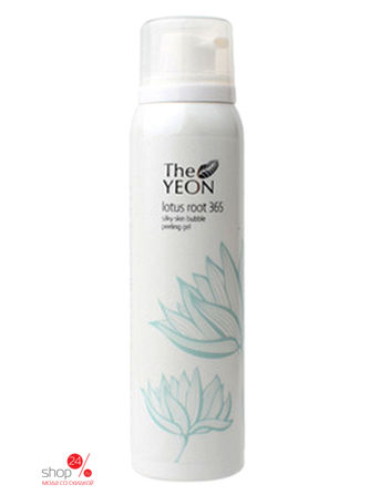 Пилинг-гель для лица с экстрактом лотоса, 100 мл The Yeon the yeon lotus roots 365 silky skin bubble peeling gel пилинг гель с экстрактом лотоса 100 мл
