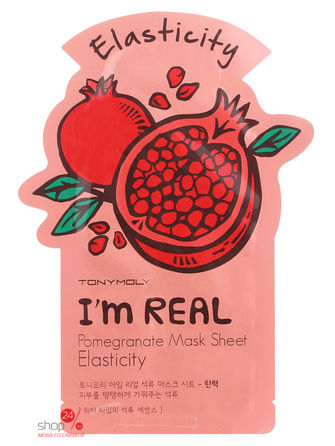 Маска тканевая, 21 мл TONY MOLY тканевая маска tony moly i m real makgeolli mask sheet объем 21 мл