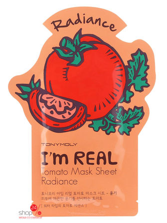 Маска тканевая, 21 мл TONY MOLY тканевая маска tony moly i m real pomegranate mask sheet объем 21 мл