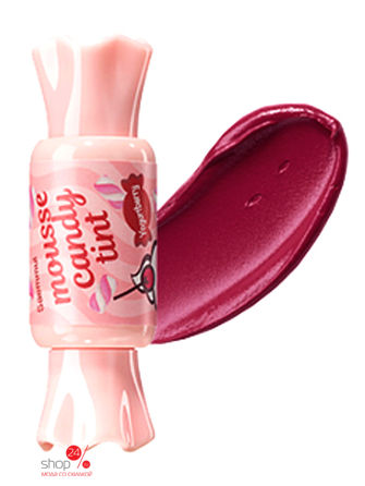 Тинт-мусс для губ Конфетка Mousse Candy Tint 05 Yogurtberry Mousse, 8 г The Saem