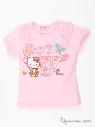 Футболка Hello Kitty, цвет розовый